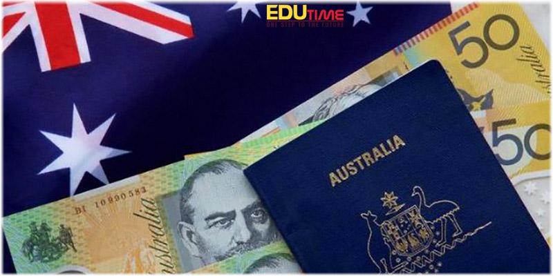lệ phí xin visa du học úc 2021-2022