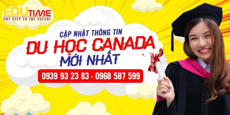 thong tin du hoc canada moi nhat