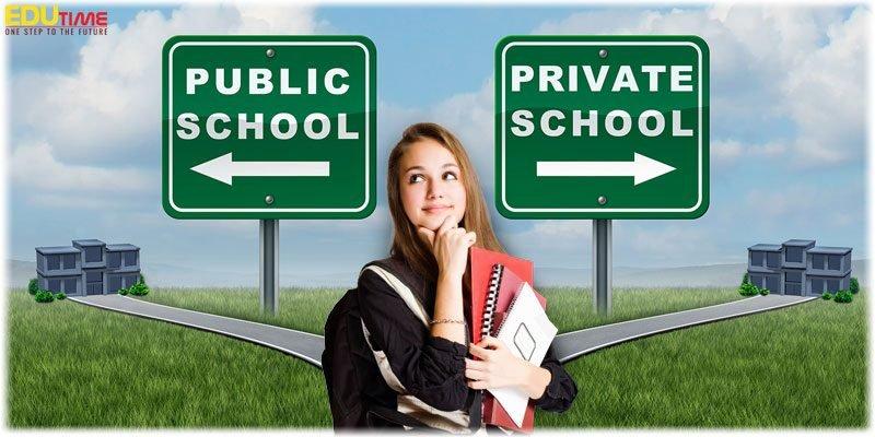 du học trung học phổ thông mỹ nên học trường công hay trường tư