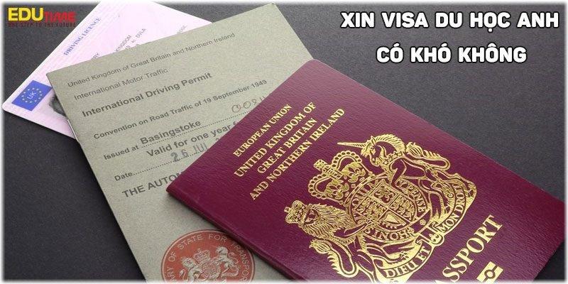 xin visa du học anh 2020-2021 có khó không