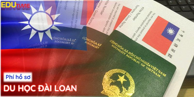 chi phí làm hồ sơ du học đài loan