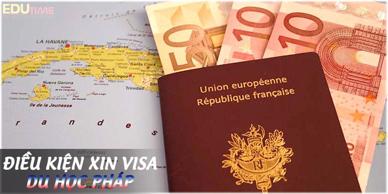 điều kiện xin visa du học pháp 2020-2021 là gì?