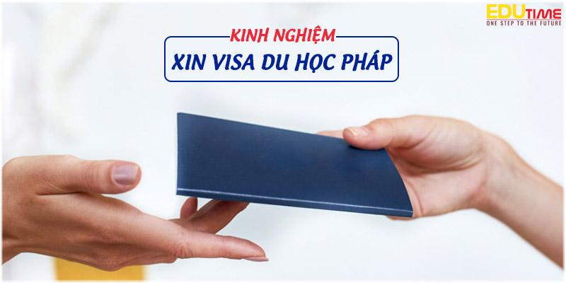 kinh nghiệm xin visa du học pháp 2020-2021