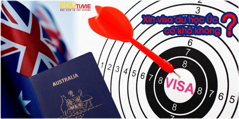 xin visa du học úc 2021-2022 có khó không?