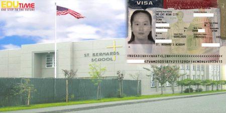 chúc mừng đinh nhật linh đạt visa du học mỹ ngay lần đầu phỏng vấn