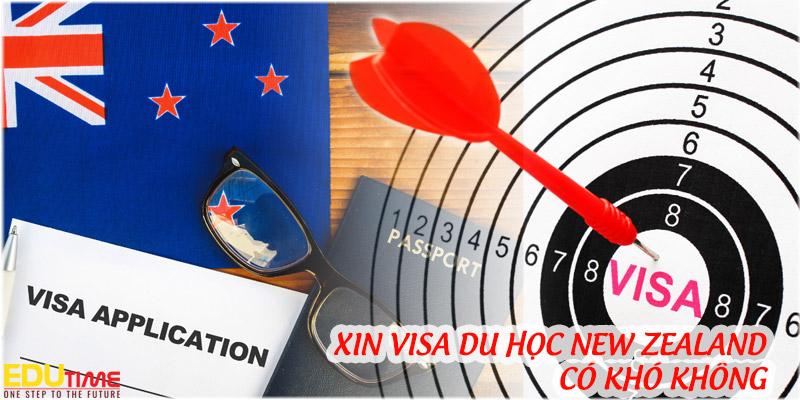 xin visa du học new zealand 2020-2021 có khó không ?