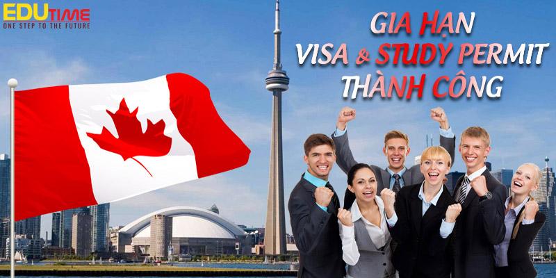 hướng dẩn gia hạn visa và study permit du học canada 2021