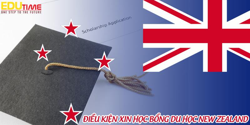 yêu cầu, điều kiện hồ sơ xin học bổng du học new zealand 2021