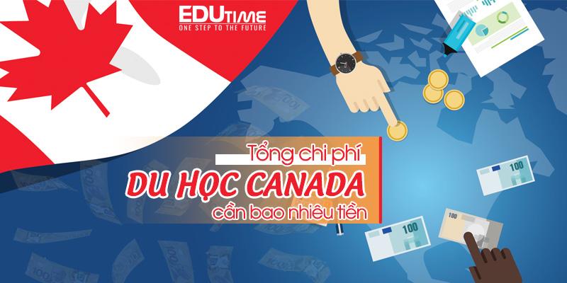 tổng chi phí du học canada bao nhiêu tiền việt mới nhất 2021