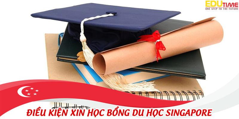 điều kiện để xin được học bổng du học singapore từ trường