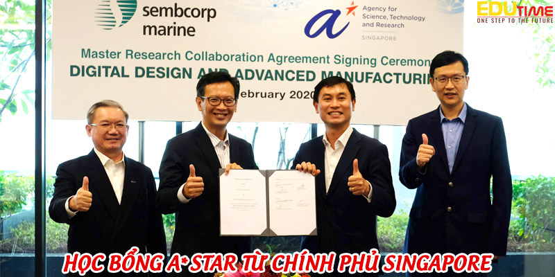 chương trình học bổng a*star từ chính phủ singapore