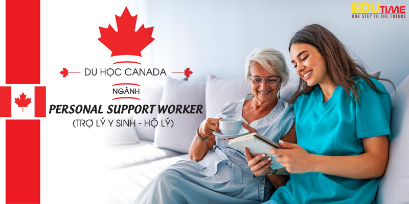 du học canada ngành trợ lý y sinh personal support worker